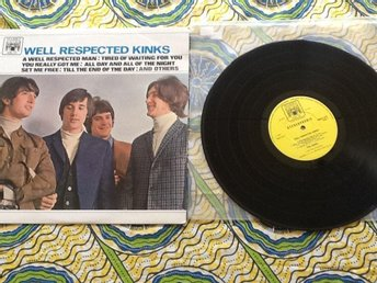 Well respekted Kinks. The Kinks o.u. Marble Arch . Made in England 1966