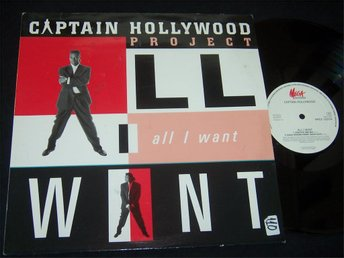 "CAPATAIN HOLLYWOOD - ALL I WANT 12"" 1993 TOPPSKICK!!"