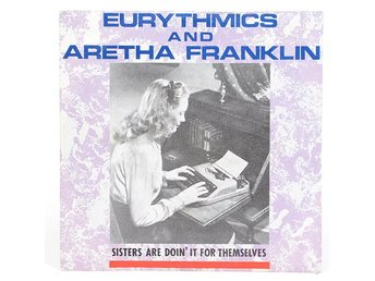 Eurythmics / Aretha Franklin - Sisters Are Doin' It For...  PB 40339 Singel 1985