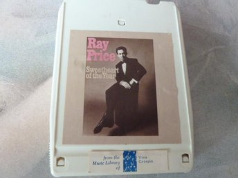 RAY PRICE, SWEETHEART OF THE YEAR,  KASSETTBAND, 8-TRACK