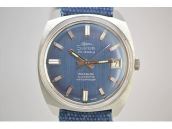 SUPER FIN VINTAGE UR SYSTEMA AUTOMATIC , 25 JEWELS