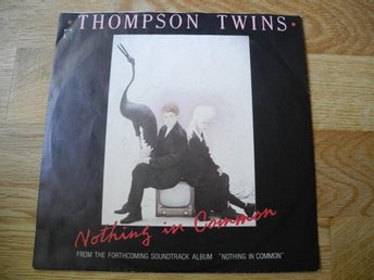 "THOMPSON TWINS - ""NOTHING IN COMMON"" / ""NOTHING TO LOSE""   (VINYLSINGEL)"