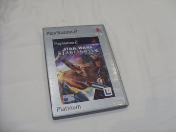 Star Wars Starfighter Playstation 2 PS2 PAL Lucas Arts