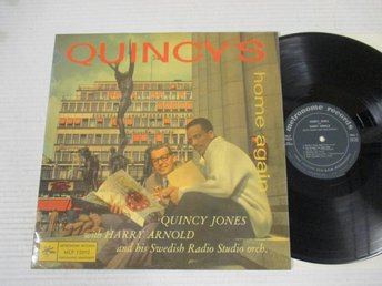 Quincy Jones with Harry Arnold
