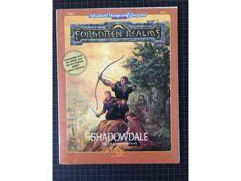 AD&D Forgotten Realms: Shadowdale FRE1 9247 (gradering:Very Good)
