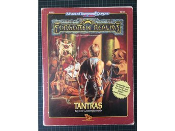 AD&D Forgotten realms: Tantras FRE2 9248 (gradering:Very Good)
