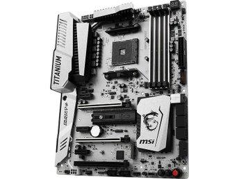 Ett av markandes BÄSTA AM4 baserade moderkort MSI X370 XPower Gaming Titanium - Kalmar - Ett av markandes BÄSTA AM4 baserade moderkort MSI X370 XPower Gaming Titanium - Kalmar