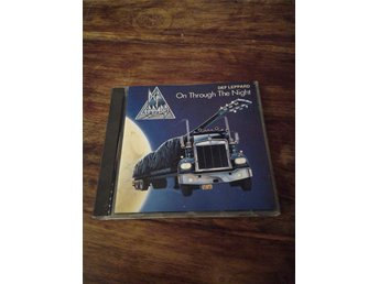 DEF LEPPARD - ON THROUGH THE NIGHT - 1980 cd