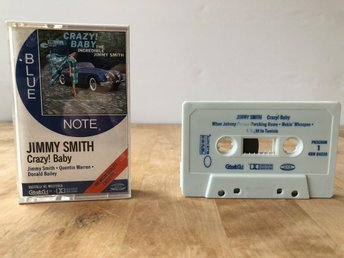 Jimmy Smith - Crazy! Baby - Blue Note US press, Kassettband