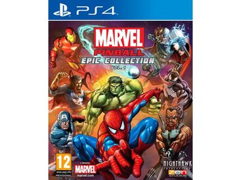 Marvel Pinball Epic Collection Vol. 1 - Sällsynt - Helt nytt till PS4!!! REA
