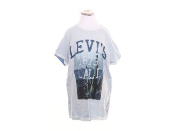 Levi Strauss & Co, T-shirt, Strl: 170, Vit