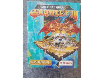 Gauntlet III - The Final Quest // Amiga //  Diskett // Retro spel 1991