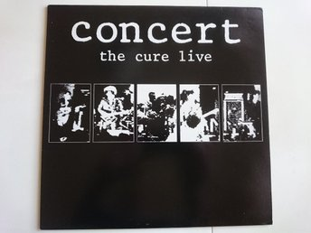 THE CURE - CONCERT The Cure  Live