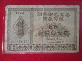 Norge 1 krone 1944