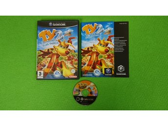 Ty 2 The Tasmanian Tiger Bush Rescue SVENSK UTGÅVA Gamecube Nintendo Game Cube