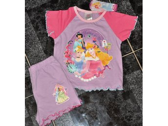 Ny st 92=18-24 mån pyjamas /shortsset disney o princess dream