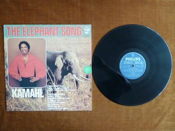 KAMAHL, THE ELEPHANT SONG,  LP, LP-SKIVA