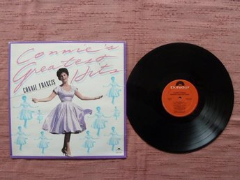 CONNIE FRANCIS, CONNIE'S GREATEST HITS,  LP-SKIVA