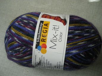Regia sockgarn Mix-it-color.