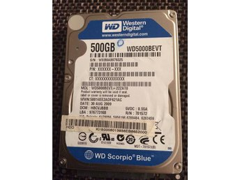 Western Digital WD Scorpio Blue 2,5  500 GB