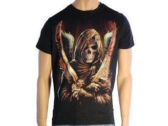 T-Shirt HR Angel Of Death Storlek L (fabriksny)
