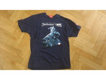T-shirt Marvel Silversurfer vs Technics SL-1200 - Malmö - T-shirt Marvel Silversurfer vs Technics SL-1200 - Malmö