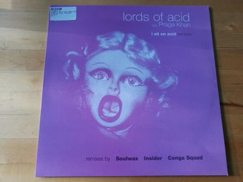 Lords Of Acid Feat Praga Khan - I sit on Acid