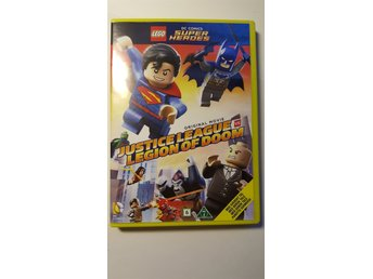 LEGO DVD super heros. Justice league legion of doom.