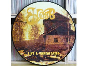 HØST 'Live & Unreleased' 1996 Swedish picture-disc LP
