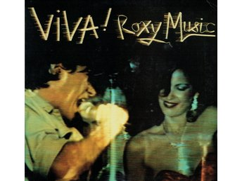 ROXY MUSIC - VIVA! ROXY MUSIC (1st PRESS, GATEFOLD) LP