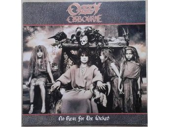 Ozzy Osbourne ‎– No Rest For The Wicked