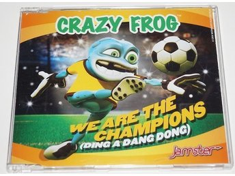 Crazy Frog - We Are The Champions ( Ding A Dang Song )
