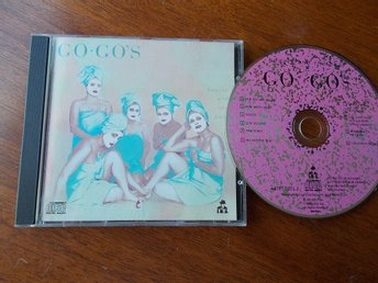 GO GO's - Beauty and the beat (1981), CD Reissue I.R.S. USA 80/90-tal