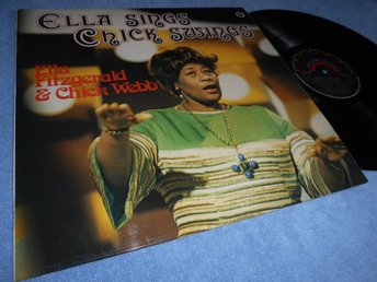 Ella Fitzgerald - Ella Sings Chick Swings (LP) NM/EX