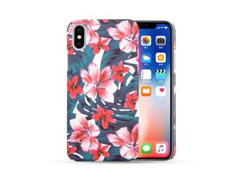 iPhone X Mobilskal Jungel Tropical Blossom Blommor