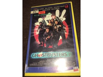 Ghostbusters II - VideoTrade *Esselte Video *fd hyr