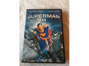 DVD-film: SUPERMAN 3 – Christopher Reeve & Richard Pryor.