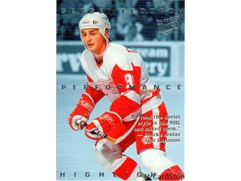Ultra 1994-95 Sergei Fedorov Highlights 6 Sergei Fedorov Detroit Red Wings