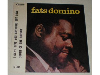 Fats Domino SINGELOMSLAG South of the border 196? VG++
