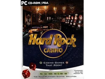 HARD ROCK CASINO-spel till PC/ PALM / Pocket PC /NY <----