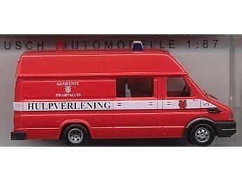 Busch 47912 - Iveco Daily H0-skala - Ord.pris 134:- - Munka-ljungby - Busch 47912 - Iveco Daily H0-skala - Ord.pris 134:- - Munka-ljungby