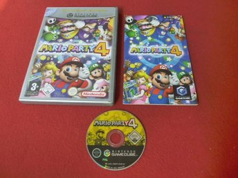 MARIO PARTY 4 till Nintendo Gamecube GC
