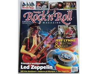 Rock N Roll Magazine 2013 nr 1 Led Zeppelin Sweet ELO