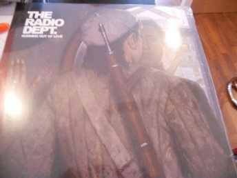 LP Radio Dept - Running out of love  CLEAR VINYL  MEGARARE!! NY