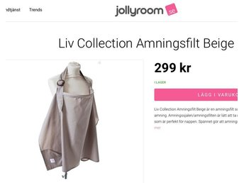 Liv Collection Amningsfilt Beige