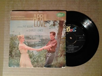 Pat Boone and Shirley Jones - April Love . EP . 1958