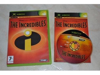 The Incredibles XBOX Komplett Fint Skick