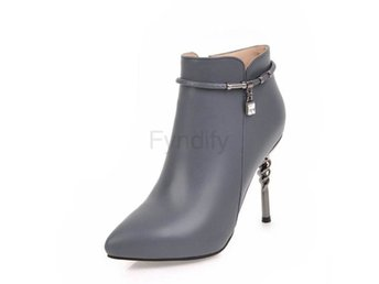 Dam Boots Zippers High Quality Women Boots Shoes Gray 41