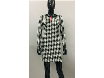 Vintage 90s retro dress rockabilly rock mod hundtand