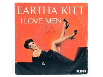 Eartha Kitt - I Love Men PB 60168 Singel 1984